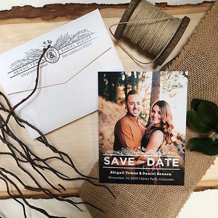 Tmx 1440459298300 Joyful Harvest Save The Date Hidden Valley Lake wedding invitation
