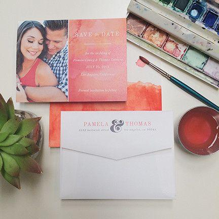 Tmx 1440459305641 Tie Dye Crush Save The Date Hidden Valley Lake wedding invitation