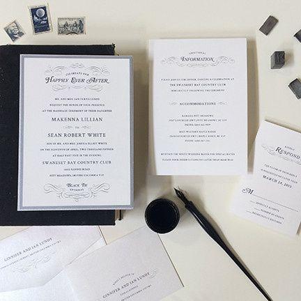 Tmx 1440459343611 Once Upon A Time Wedding Invitation Hidden Valley Lake wedding invitation