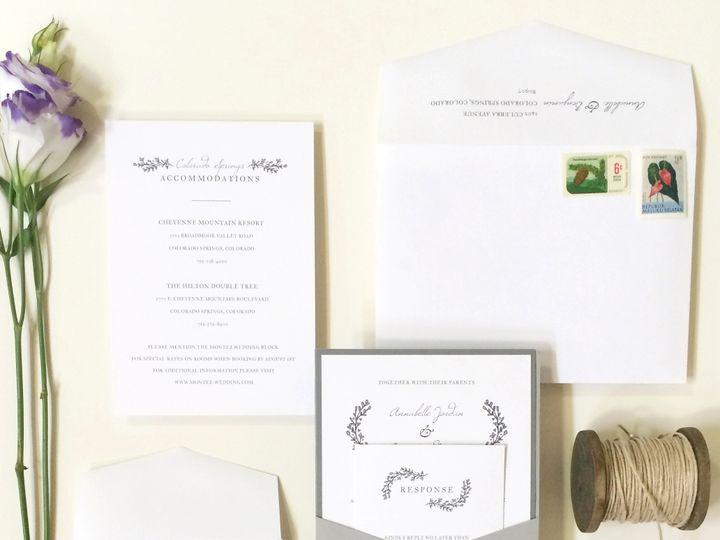 Tmx 1440459355522 Rustic Sagebrushwings Hidden Valley Lake wedding invitation