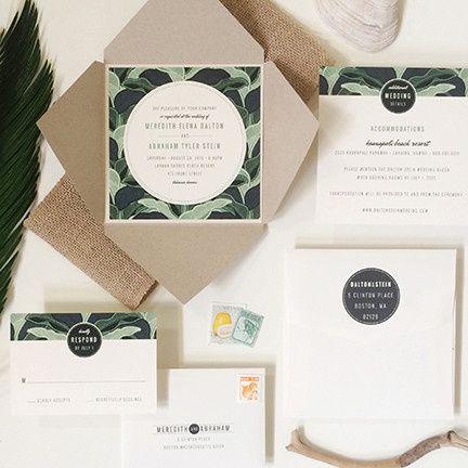Tmx 1440459370404 So Frond Of You Wedding Invitation Hidden Valley Lake wedding invitation