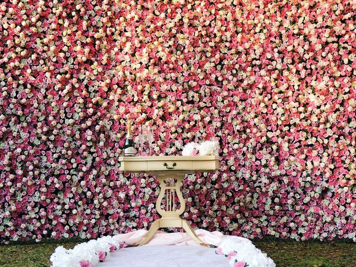 Flower Wall Rental Wedding Flowers California Sacramento Modesto