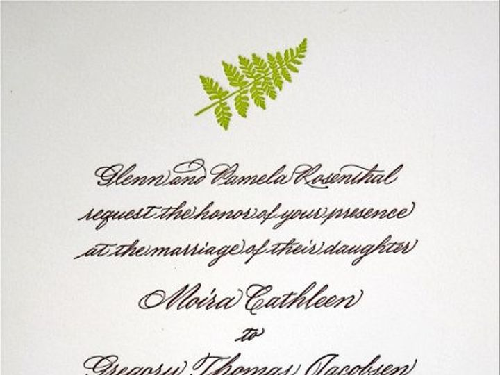 Tmx 1334761285215 IMG8424 Tiverton wedding invitation