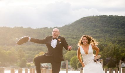The wedding of Lori and Sanjay