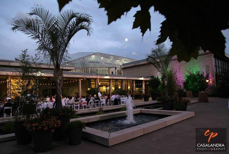 Cleveland Botanical Garden Venue Cleveland Oh Weddingwire