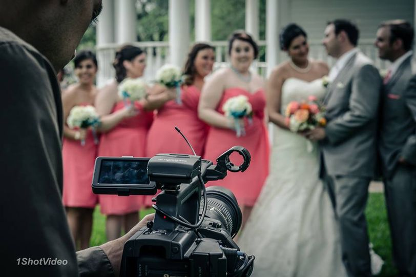 Professional videographers