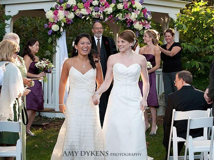 Tmx 1492810754655 Brides Smiling By Gazebo Orleans wedding venue