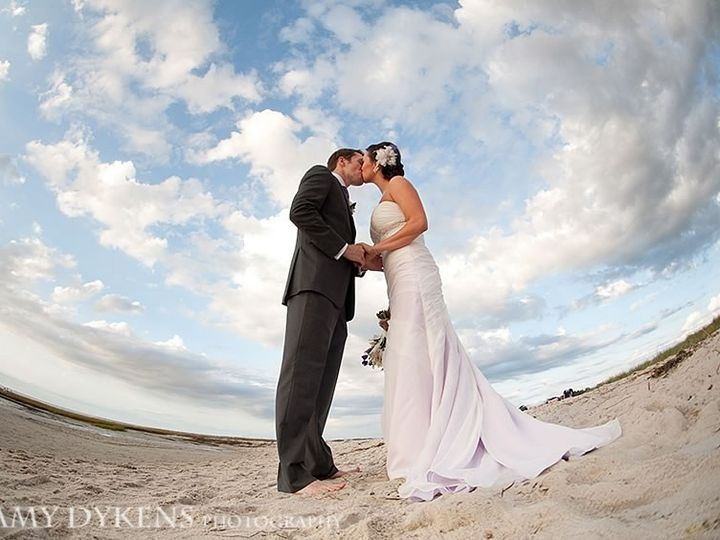 Tmx 1492810768634 Bride With White Flowers In Hair At Beach Orleans wedding venue