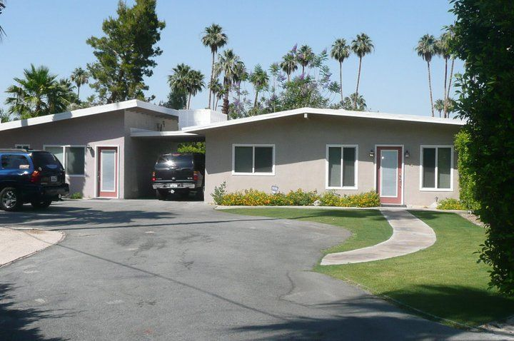 The house that we rented in Palm Springs