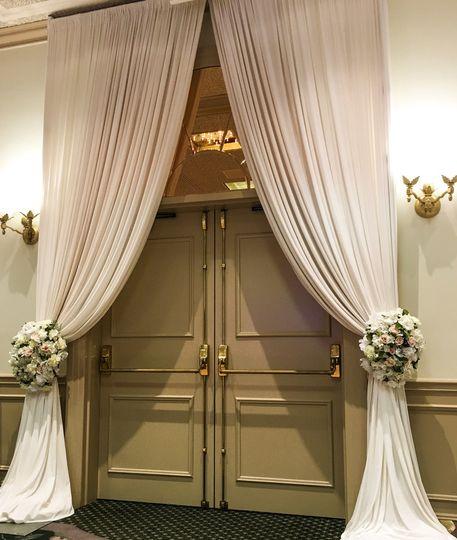 groom and bride entrance
