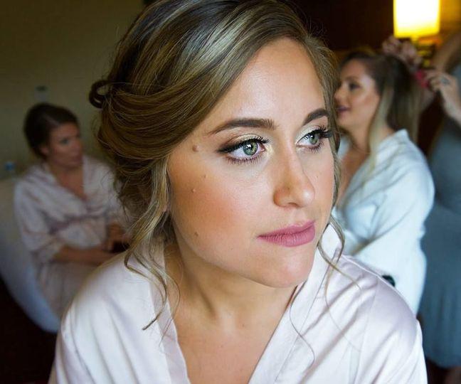 Stunning yet simple makeup