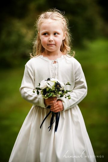Flower girl's bouquet
