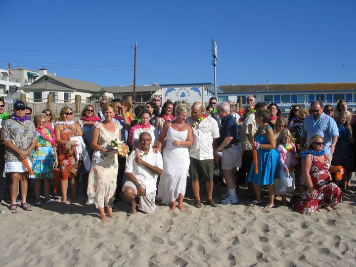 Wedding at Pismo Beach