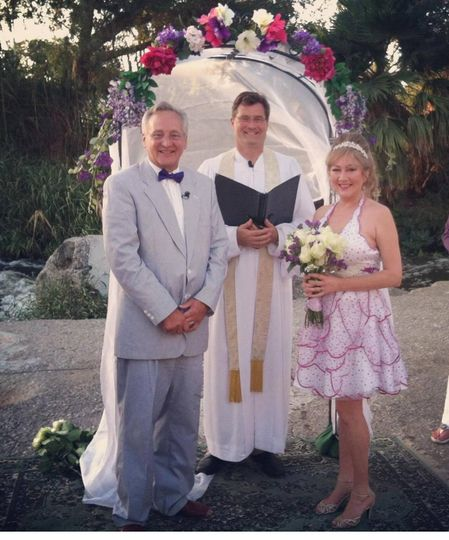 This wedding along the L.A. River was a lot of fun - the groom is a professional film-maker and the...