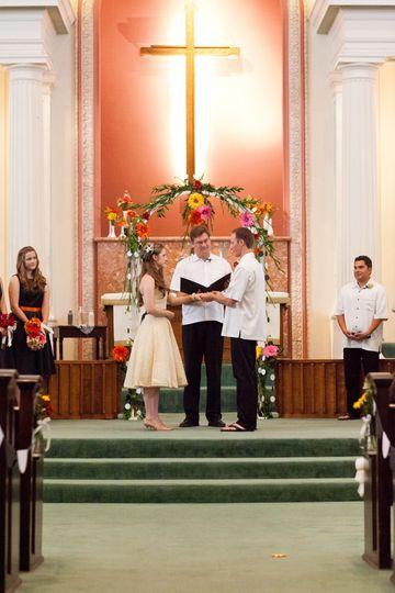 johnson wedding vows