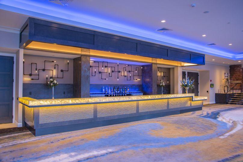 NEW LIGHT UP bar area