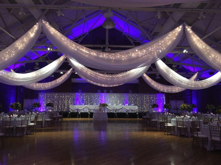 Tmx Armory Drape Head Table 51 788578 158211882417600 Manchester wedding venue