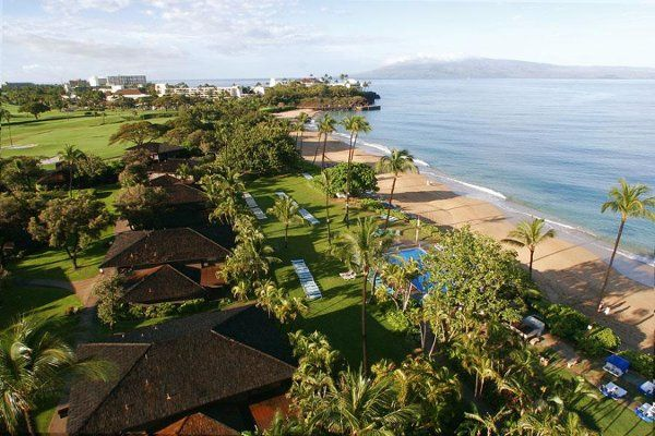 The Royal Lahaina Resort offers low-rise garden and beachside cottage accommodations reminiscent of...
