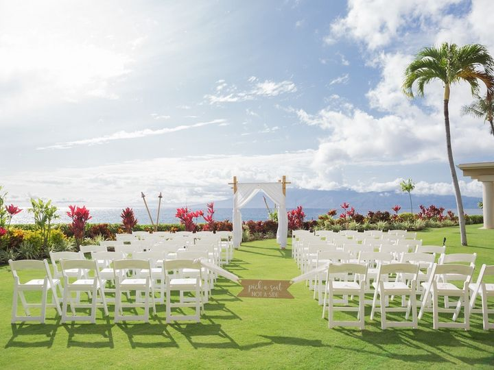 Tmx 1485482496449 Villas Ceremony With Custom Sign Lahaina, HI wedding venue