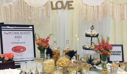 Fancy Pop Popcorn Buffet Bars & Custom Favors 1
