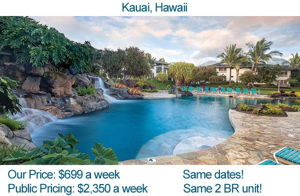 wyndham bali hai in kauai with prices for video
