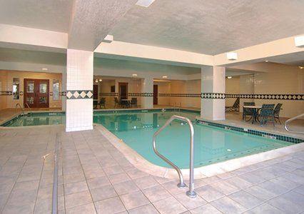 Huge indoor heated pool