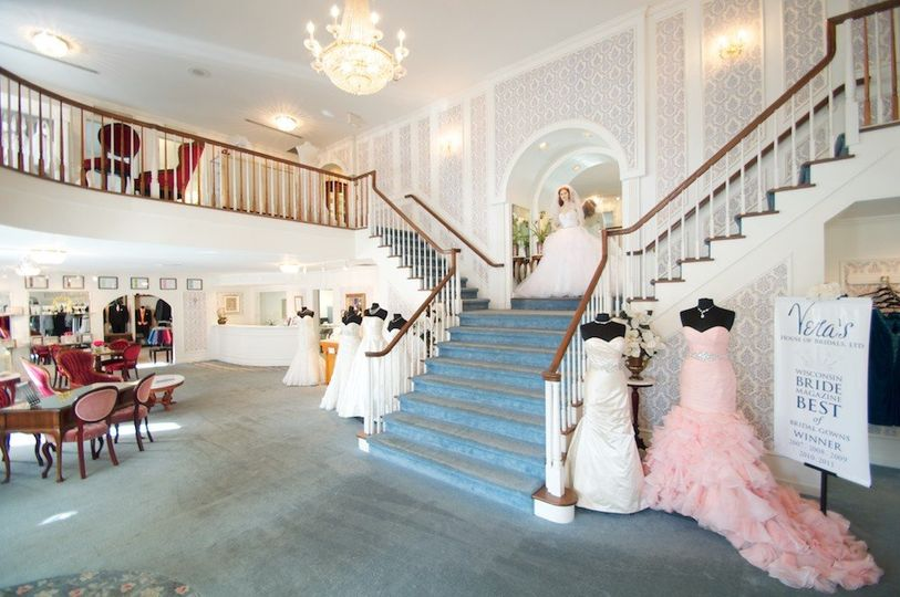 c28224537ef Beautiful victorian interior Vera s Bridals has been in business since ...