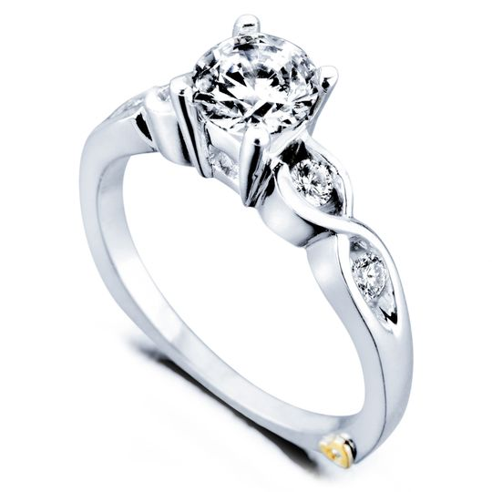 Yours Truly  YoursTruly_16170  The Yours Truly ring features 5 diamonds totaling 0.165ct. Available...