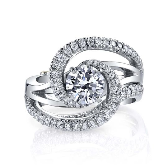 constellation engagement ring and wedding band white gold 51 93678 161498712586242