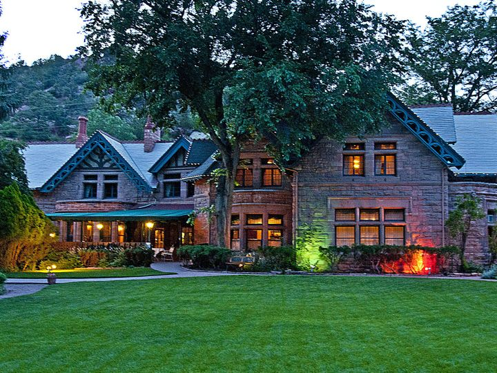 Tmx 1443986692966 Briarhurst Manor Front Lawn Evening 1624 Manitou Springs, CO wedding venue