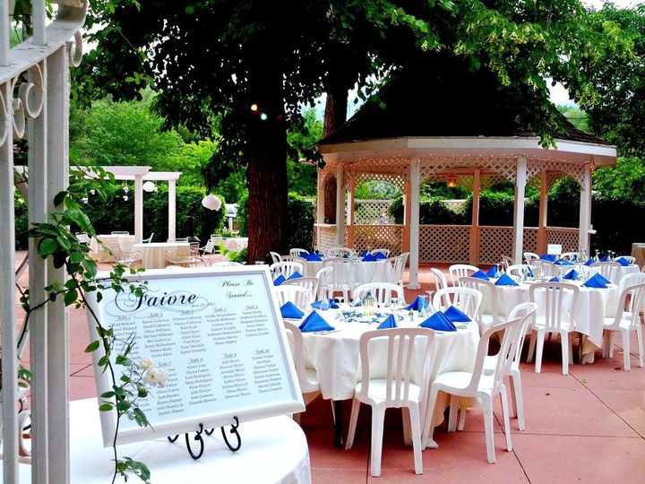 Tmx 1443988807239 Terrace With Royal Blue  Manitou Springs, CO wedding venue