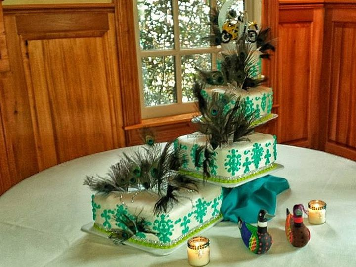 Tmx 1444171900397 Peacock Wedding Cake Manitou Springs, CO wedding venue