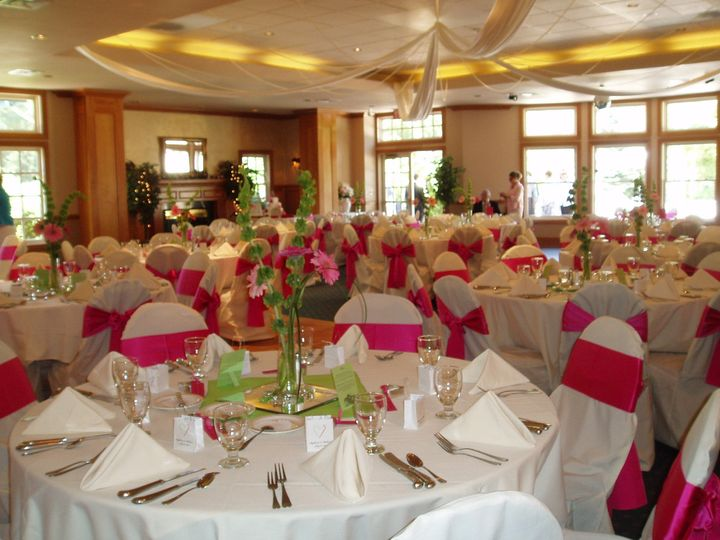 Tmx 1444248382990 Chair Covers White  Pink 009 Manitou Springs, CO wedding venue