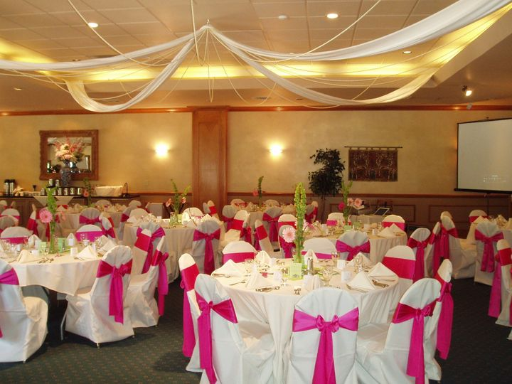 Tmx 1444248420999 Chair Covers White  Pink 005 Manitou Springs, CO wedding venue
