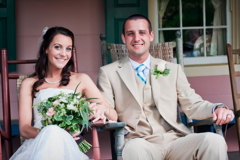 The Wedding of Ashley and Adam Jessen Venue: Union Mills Homestead Photographer: Ferry Huang...
