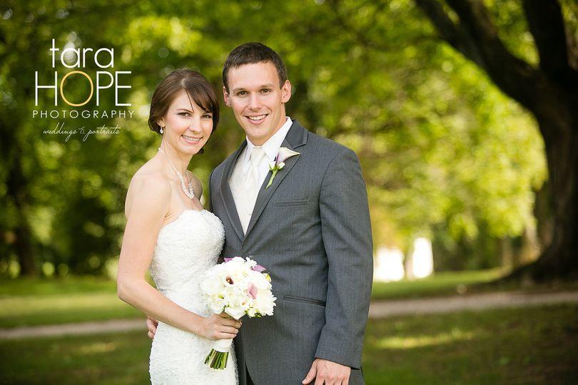 Wedding of Kate and Gareth Prisk Venue: Antrim 1844 Photographer: Tara Hope Photography
