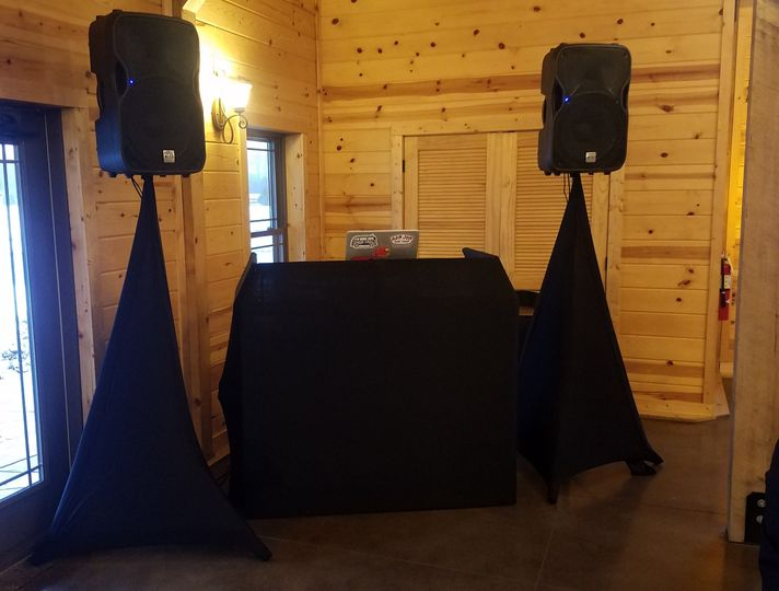 Freestanding DJ Booth