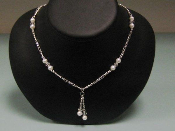 Tmx 1230723414016 Doubledropchainnecklace Hillsboro wedding jewelry