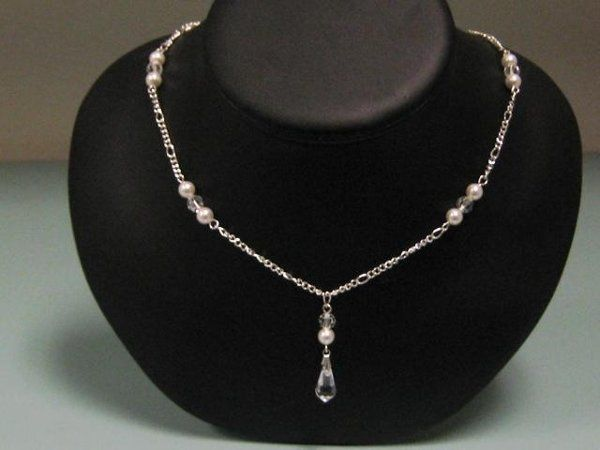 Tmx 1230723429188 Teardropnecklace Hillsboro wedding jewelry