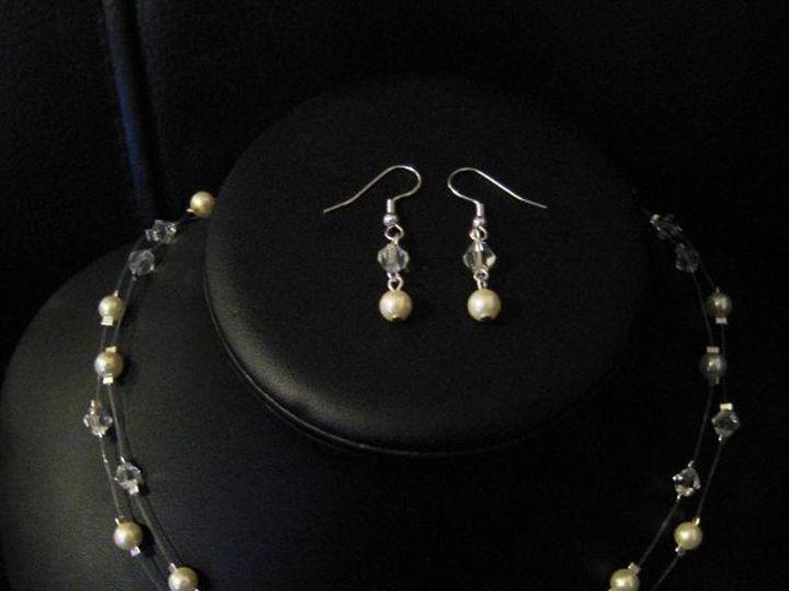 Tmx 1230723434407 DoublestrandIvoryset Hillsboro wedding jewelry