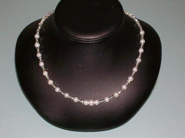 Tmx 1230723442094 SilverlinedCzech%26PearlNecklace Hillsboro wedding jewelry