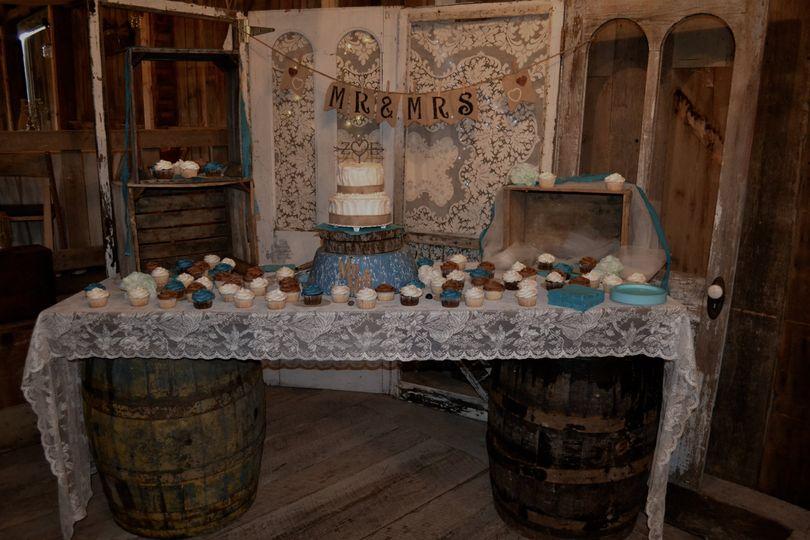 Cake setup