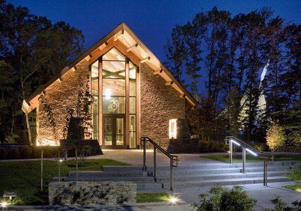 The chapel at night