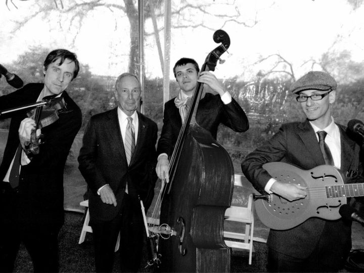 Tmx 1415133601048 Mayor Michael Bloomberg And The Milkman  Sons   Bl Brooklyn wedding band
