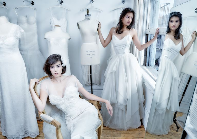 desiner artisan wedding dresses ny kelimak