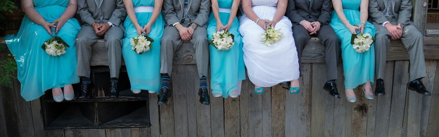 Wedding party - Erica Porter Photography