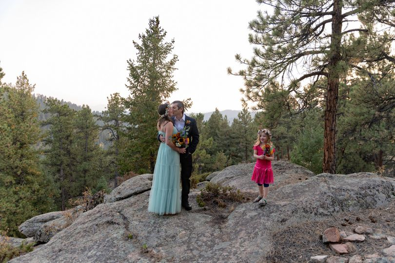Daughter as the officiant