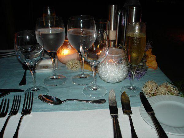 Honeymoon Beachside Dinner for two in Bora Bora
