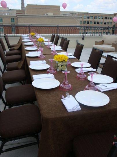 Fiesta Bridal Shower Luncheon - Lorien Hotel & Spa, Old Town Alexandria