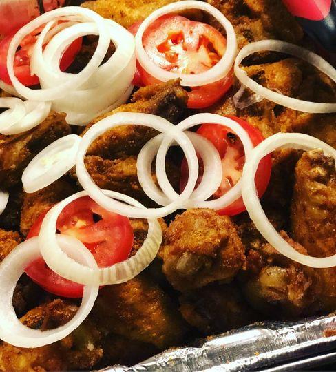 Suya Chicken Wings